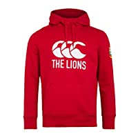 canterbury of New Zealand Men's British and Irish Lions Logo Fleece, Tango Red, XS from Canterbury