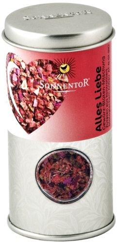 Sonnentor Alles Liebe Gewürz-Blüten-Mischung Streudose, 1er Pack (1 x 30 g) - Bio