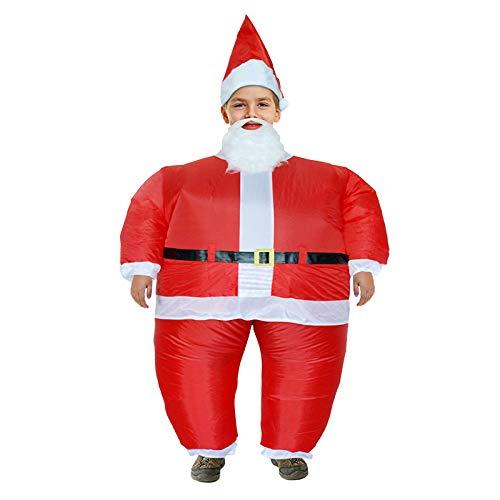 FidgetFidget Costume gonfiabile, per bambini, per Natale, costume di Natale, costume di Halloween
