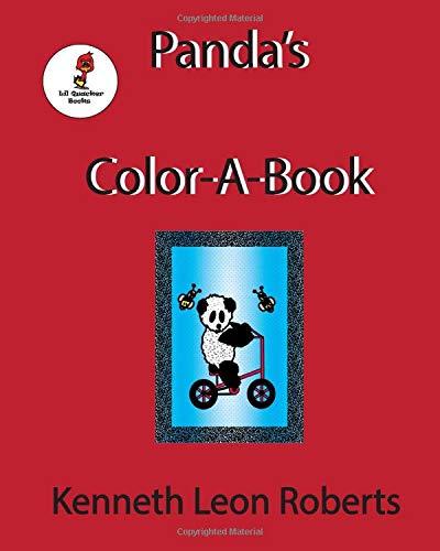 Panda's Color-A-Book