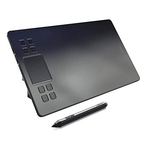 YP Display Tablet Drawing, 10 x 6 Zoll Drawing Tablet Grafiktablett Pen Tablet OSU! für Fotobearbeitung mit druckempfindlichem Stift und kostenlosen Softwaredownload Kompatibel mit Windows & Mac