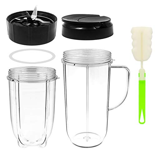 Tanzfrosch 22oz+16oz Cups with Flip Top Lid and...