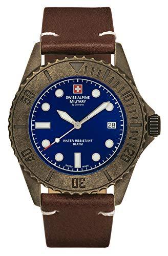 Swiss Alpine Military 7051.1585 Diver Vintage 41mm 10ATM
