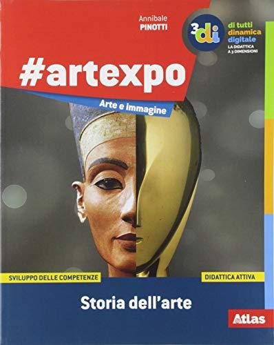 #artexpo: storia dell'arte-Linguaggio visivo-Catalogo dei capolavori. Per la Scuola media. Con Contenuto digitale per accesso on line