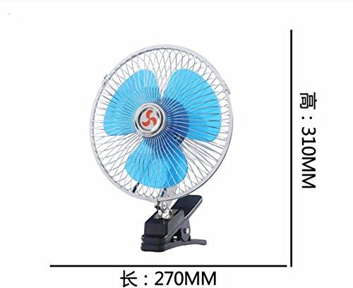 JISHUQICHEFUWU Ventilateur/Voiture avec Petit Ventilateur/Ventilateur Rotatif/pièces Auto, I, 12V