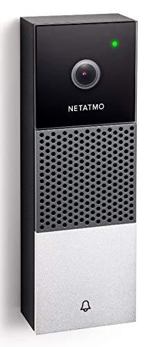 Netatmo DoorBell NDB-PRO - Timbre inteligente con cámara de noche y día integrada