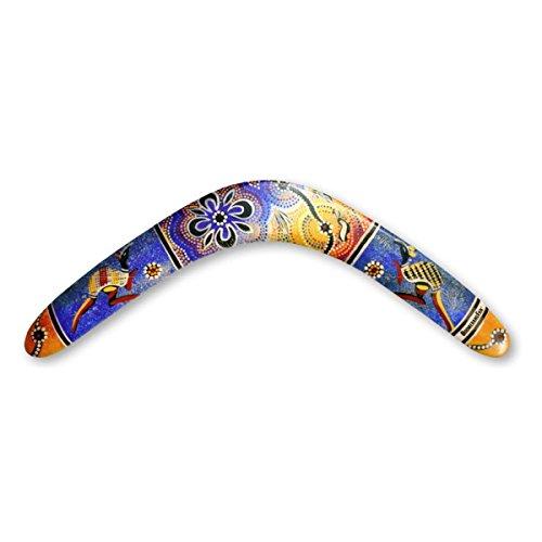 Unbekannt Boomerangfan boomerangfanaboriginal-l 44,5cm Aboriginal Linkshänder Boomerang