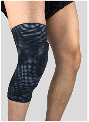 XKEENHUXI Rodilleras de Baloncesto Transpirables Protectores Voleibol Compresión Correr Rodillera Soporte de Pierna Soporte Seguridad Deportiva