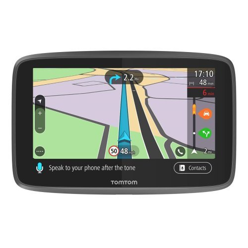TomTom Go Professional 6250 GPS Truck Sat Nav with Full European (Including UK) Lifetime Maps and Traffic Services Designed for Truck, Coach, Bus, Caravan, Motor-homes and Other Large Vehicles