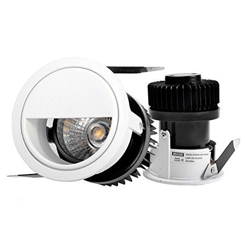 Digilamp 57-LED-X09D-7W-NW Lámpara downlight LED, Blanco