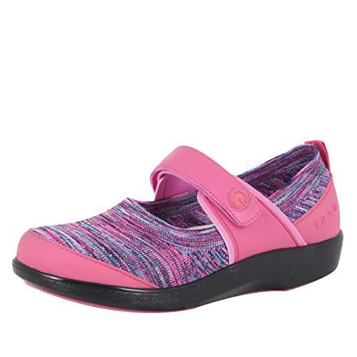 Alegria TRAQ Qutie Womens Smart Walking Shoe Pink 6 M US