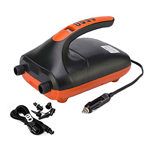 lujiaoshout Die Hai-Hochdruck-SUP-Pumpe Auto-Luftpumpe Elektrische Inflator Paddle Board Pump Sup Kayak Luftpumpe Hochdruck für Inflatable SUP Boot