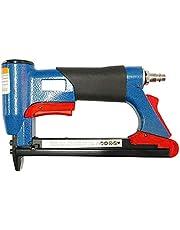 Kamenda 1/2 Inch Pneumatic Air Stapler Nailer Fine Stapler Tool For Furniture Blue Nailer Tool 4-16Mm Woodworking Pneumatic Air Power Tool