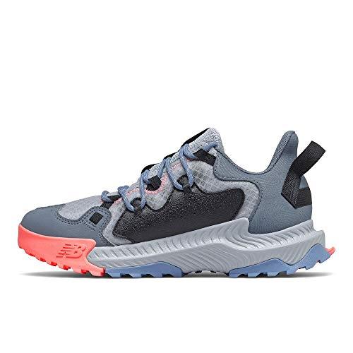 New Balance Womens Shando V1 Running Shoe Light CycloneOcean GreyParadise Pink 65
