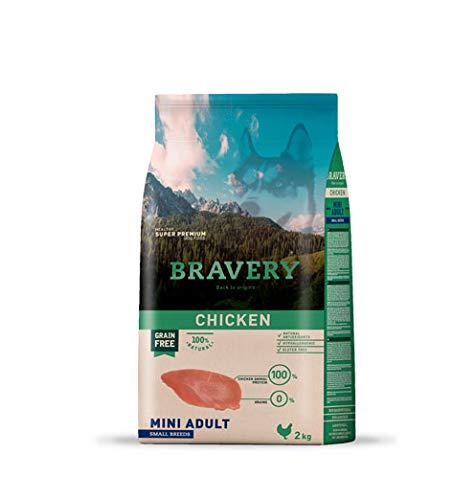 BRAVERY Grain Free Adult Pollo Razas Mini 2 KG