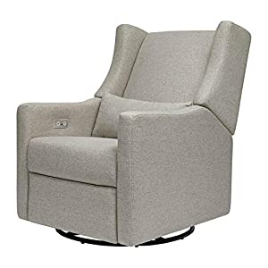 Recliner and Swivel Glider in Performance Gray -Rocking Chair-Rocking Chair for Nursery-Baby Rocker-Glider Rocker with Ottoman-Glider Rocker-Rocker Recliner-Nursery Rocking Chair