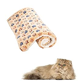 JZTRADE Vet Bed Dog Blanket Dog Blankets Washable Puppy Blankets Cat Beds Washable Dog Bed Dog Crate Mat Cat Blanket Warm Dog Blanket Dog Crate Bed