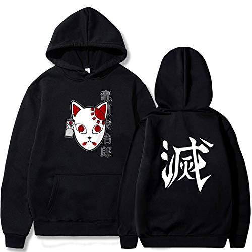 Anime Demon Slayer Hoodie Herren Kapuzenpullover Pullover Tanjiro Kamado Hoodies Streetwear Harajuku Kimetsu No Yaiba Sweatshirt