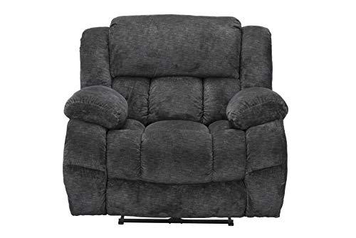 Standard Furniture Lawrence Recliner, Black