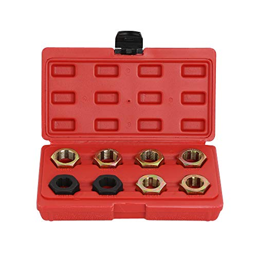 8pc Axle Spindle Fractional & Metric Rethreading Set Kit