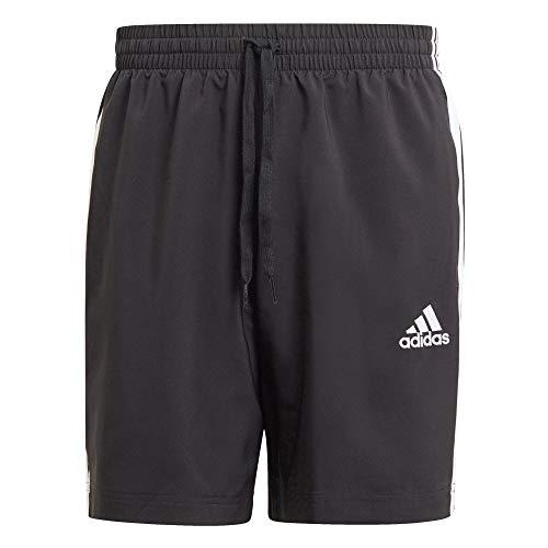 adidas Essentials Chelsea 3-Streifen Shorts Black/White M