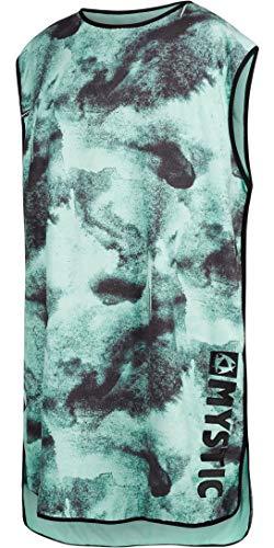 Mystic Travel Poncho/Change Robe 170400 - Black/Mint