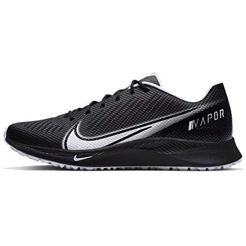 Nike Vapor Edge Turf Men's Football Shoe Mens Cd0086-001 Size 7 Black/White