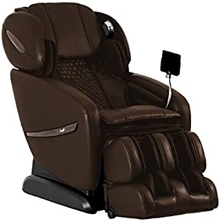 OSAKI OS-Pro ALPINA Electric Full Body Massage Chair, SL Track Roller Design, Foot roller, 12 Unique Auto-programs, Touch Screen Controller (Brown)