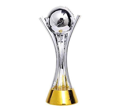 X-Trophy Trofeo de la Copa de Plata Modelo de Resina de la Copa Mundial de Clubes de la FIFA (16.93 Pulgadas)
