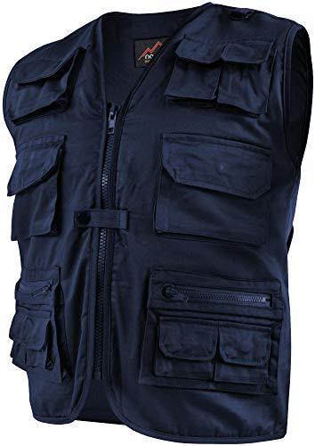 normani Outdoor Weste Safari mit vielen praktischen Taschen Farbe Navy Größe XL