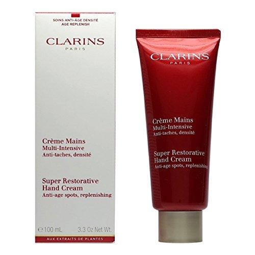 Clarins Super Restorative Hand Cream for Women, 3.3 Ounce