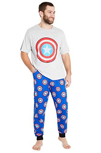 Marvel Pijama Hombre Verano, Ropa Hombre...