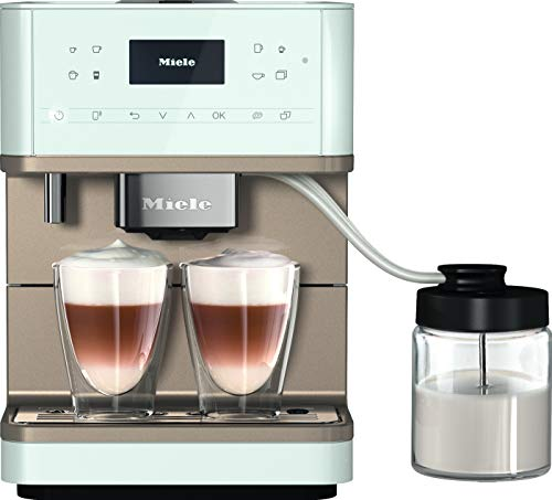 Miele CM 6360 MilkPerfection Stand-Kaffeevollautomat, Lotosweiß