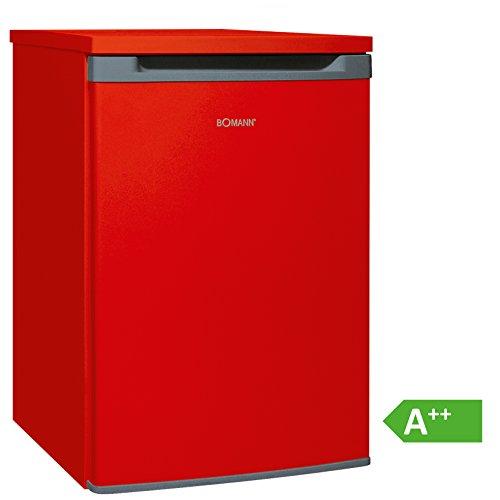Bomann VS 354 Vollraumkühlschrank EEK A++, 130 L, HxBxT: 86x55x56,8 cm, 88 kWh/Jahr, Türanschlag wechselbar, stufenlose Temperatureinstellung, Abtauautomatik