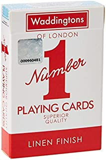Winning Moves Waddingtons Number 1 Playing Cards, 007290 - Assorted colors
