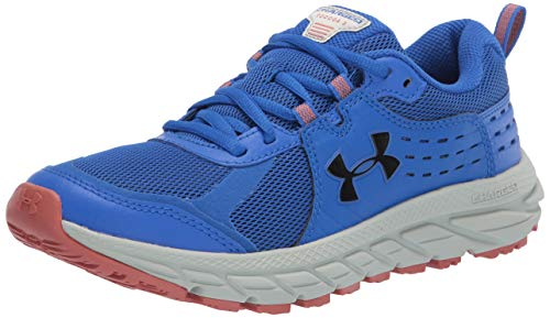 Under Armour Men's Charged Toccoa 2 Sneaker, Versa Blue (401)/Olive Tint, 10