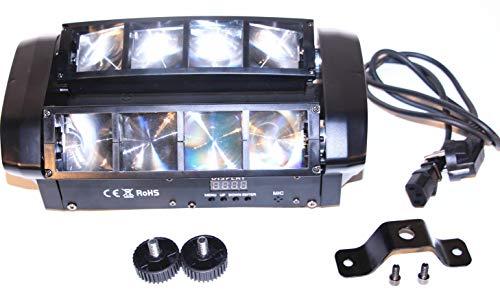Boryli 8x3W RGBW LED DMX512 DJ Moving Head Light Rotatable Beam Spider...