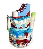 Tarta de pañales mágica para niños y niñas, diseño de zapato de...