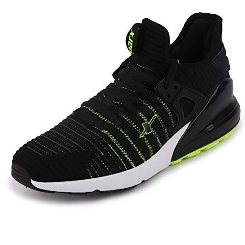 Sparx Shoes Men Black White Training Shoes-6 UK (SX0446G_BKWH0006)