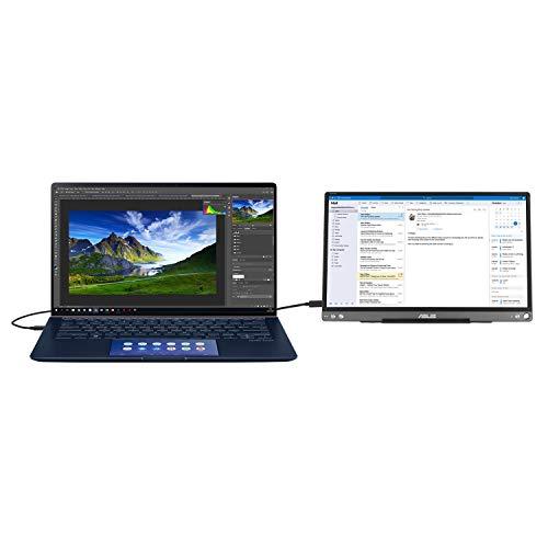 ASUS ZenBook Core i7-10510U 16GB 512GB SSD + 32GB Intel Optane 14 Inch GeForce MX 350 Windows 10 Screenpad 2.0 Laptop