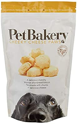 Pet Bakery Dog Treat Paws Cheese, 190 g