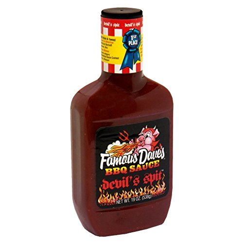 Famous Dave's BBQ Sauce Devil's Spit, 19-Ounce (Pack of 12)