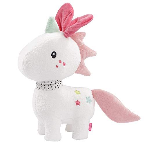 FEHN 057058 Licorne XL/compagnon de jeu, protection & ami en peluche : grande peluche à saisir, toucher et câliner, pour bébés et enfants à partir de 0 mois
