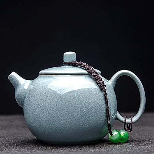 lqgpsx Tetera con colador Tetera,Tetera,Juego de té de cerámica,Cerámica Abierta