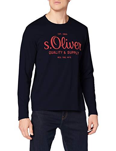 s.Oliver Herren 130.10.011.12.130.2062708 T-Shirt, 5952, L