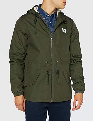 Element Herren Wasserabweisende Jacke Wolfeboro stark - Wasserabweisende Jacke Für Männer, Forest Night, XL, U1JKF4