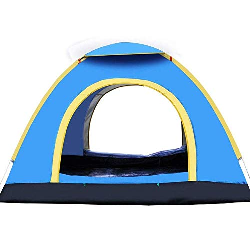 LHQ-HQ Camping Tent Automatic Tent, Lightweight Windproof and Coldproof Camping Tent, Suitable for Family Outdoor Sports 200 * 200 * 135cm Automatic Camping Tent