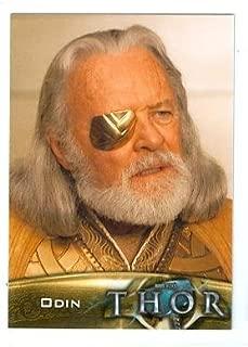 Anthony Hopkins Odin trading card Thor 2011 Upper Deck Marvel #73