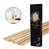 PEFSO 10 Inches Natural Rattan Reed Diffuser Sticks, Essential Oil Aroma...