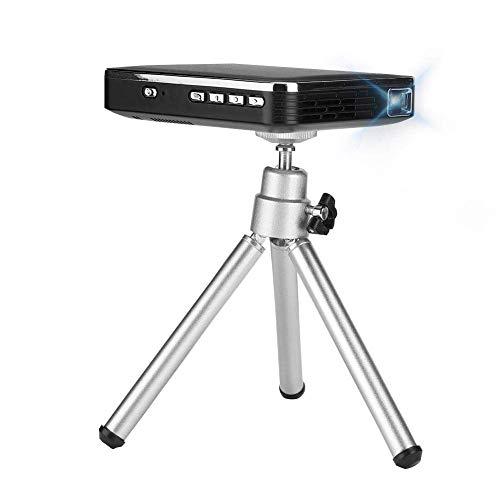 Diyeeni Mini proiettore Portatile Digitale, 2000 Lumen, per Home Theater/Aula multimediale/Sala riunioni, Connessione Cellulare, modalità Schermo di sincronizzazione, Supporto Android/iOS(Spina UE)